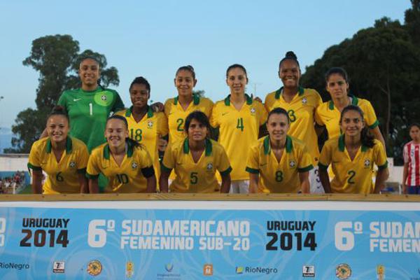 Brasil é hexacampeão sul-americano de futebol feminino sub-20 ... bfb0f5bb2284e