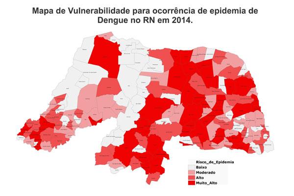 Mapa vai servir para identificar os municípios que precisam de mais atenção