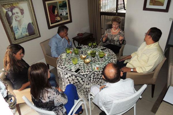 Wilma de Faria reúne os vereadores do PSB para conversar sobre sucessão estadual