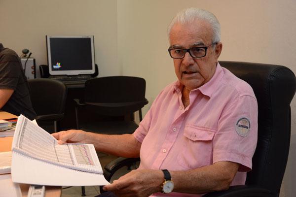 Ex-senador afirma que não aceita disputar com Wilma de Faria