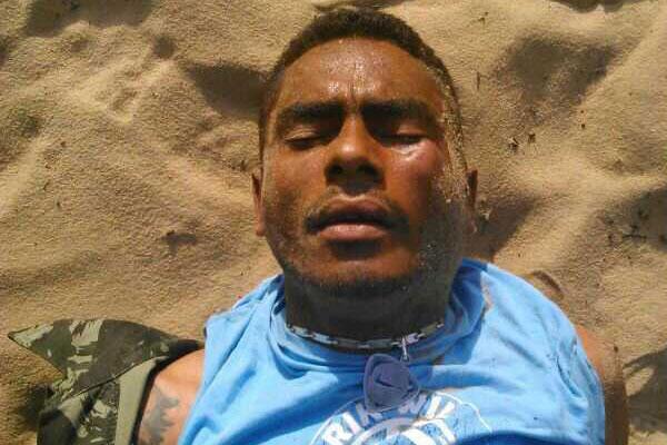 Isaac Heleno da Cruz, de 28 anos, também conhecido como Rivotril, foi preso na manhã de hoje (10) em Mãe Luiza