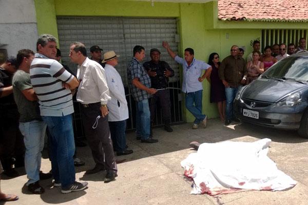 Crime aconteceu em frente à academia onde a vítima era instrutor