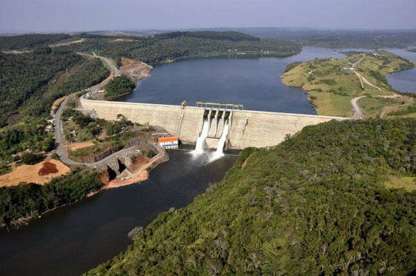 Na Usina Hidrelétrica de Mauá, no Paraná, duas turinas entraram em operação no início do ano