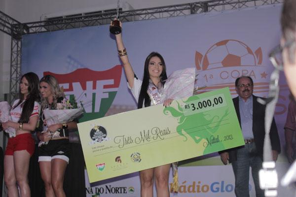 Zaira Ferreira, representante do ABC, conquistou o título de 2013