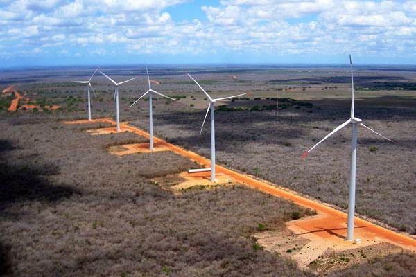 Parque eólico da Dobrevê no RN: Empresa gera energia dos ventos e também tem uma usina solar em licenciamento no Estado