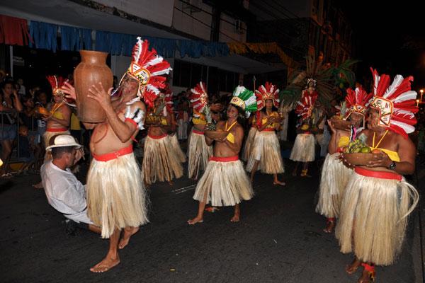 Grupos carnavalescos como Tribos de Índios foram contemplados com os recursos