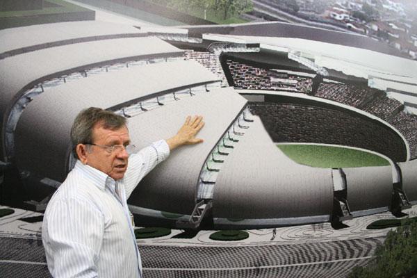 Secretário Demétrio Torres planeja usar até as estruturas do canteiro de obras da Arena das Dunas