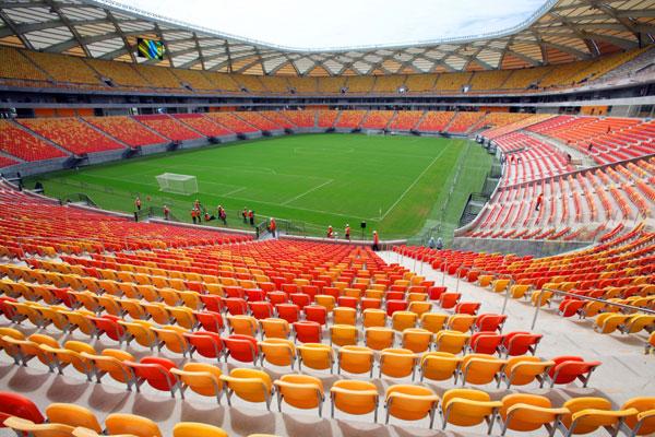 Arena Amazonas não possui mais ingressos para os jogos entre Inglaterra x Itália e EUA x Portugal