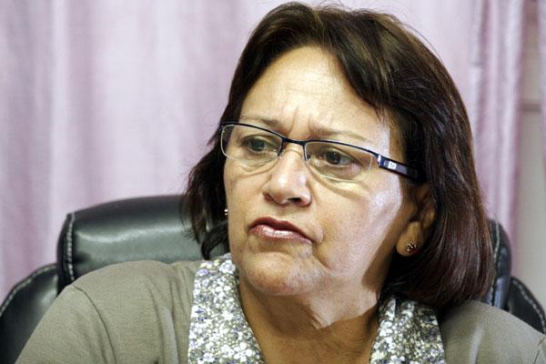 Em nota, Fátima Bezerra confirmou o apoio do PT a candidatura de Robinson