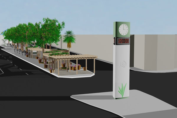 Projeto de R$ 25 milhões para relocação de camelódromo, arborização do bairro e um novo relógio