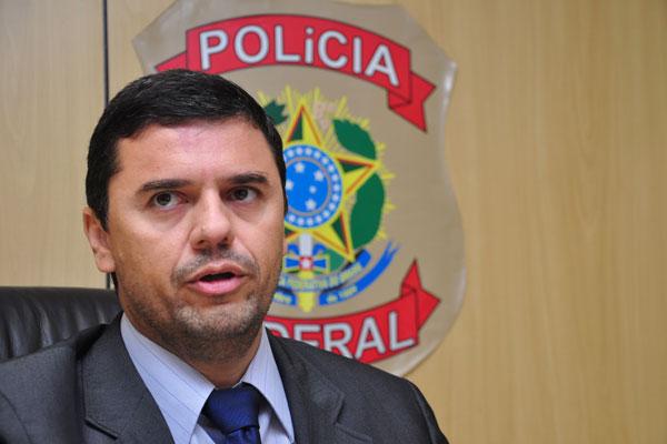 Rubens Alexandre de França, delegado regional de combate ao crime organizado da PF/RN