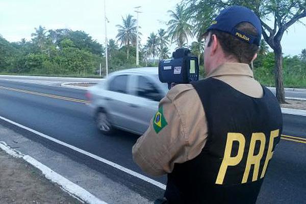 PRF utilizou radares móveis durante o Carnaval