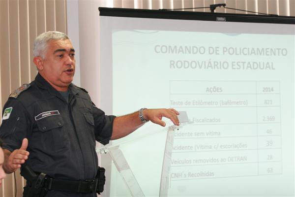 Comandante da PM, coronel Araújo Silva, apresentou parte dos números de ocorrências no Carnaval 2014