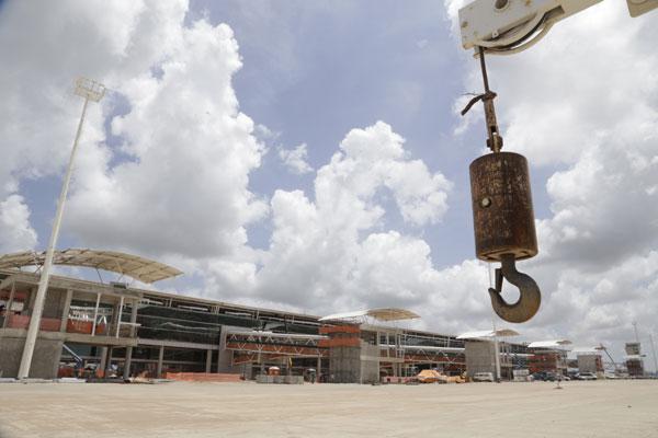Cargo de agente de proteção no novo aeroporto atraiu 120 pessoas
