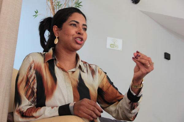 Gilcilene da Costa, promotora do Ministério Público, falou sobre a Lei Maria da Penha