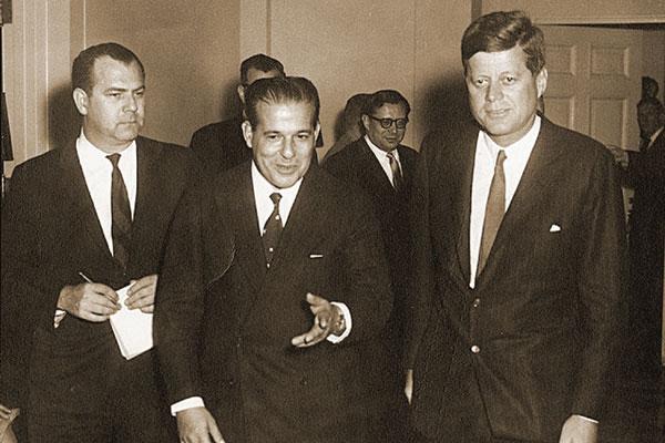 Movimento militar que derrubou João Goulart vinha sendo tramado no gabinete do presidente John Kennedy, desde 1962