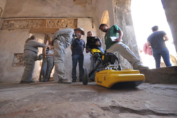 Equipamento, que está sendo usado no RN pela primeira vez, busca alterações no solo que possam indicar algum achado arqueológico
