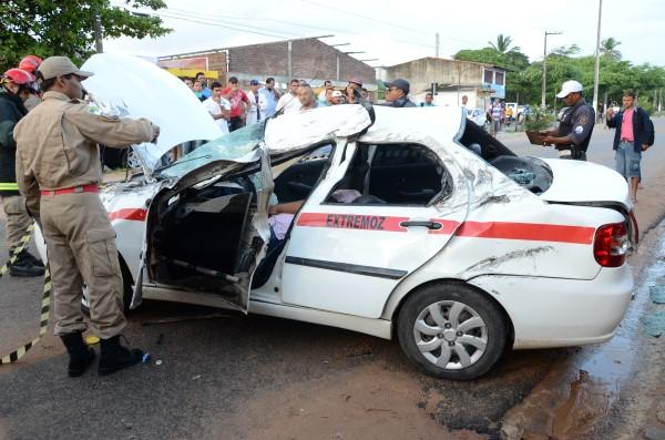 Acidente na avenida João Medeiros Filho deixou uma vítima fatal