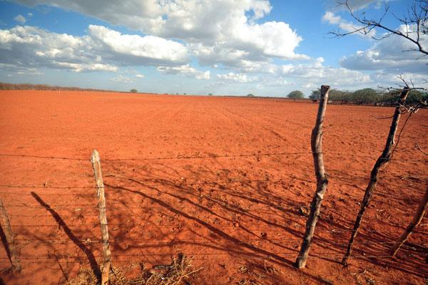 Área prevista para a ZPE de Assu: intenção é reduzir o tamanho de 1.000 para 125 hectares