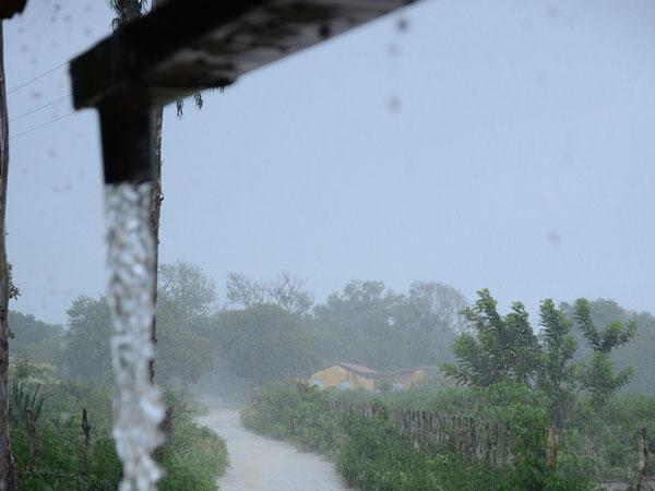 Jaçanã, no Seridó, tem registrado chuvas fortes nos últimos dias