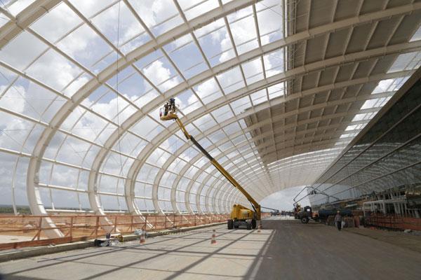 Até o dia 14 de março deste ano, o novo aeroporto, que vai substituir o Augusto Severo, no RN, estava com 89% das obras concluídas