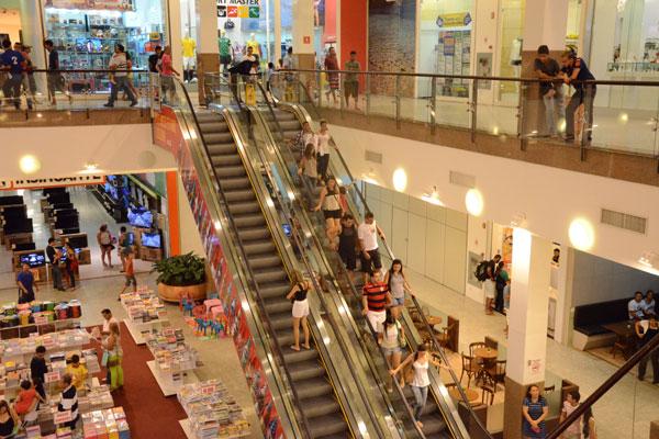 Natal Norte Shopping, na zona Norte de Natal: em direção contrária ao setor nacional, o shopping espera crescer durante a Copa