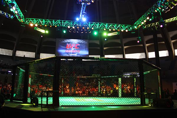Natal recebeu edição do UFC pela primeira vez