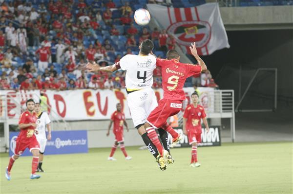 América e Globo se enfrentaram hoje (23) na Arena das Dunas pelo Campeonato Potiguar