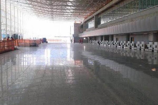 Aeroporto Governador Aluízio Alves está com obras do terminal dentro do cronograma