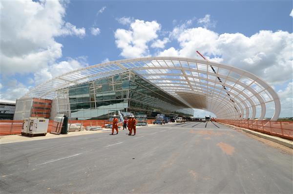 Operação do novo aeroporto começa no mês de maio, garantiu o ministro Moreira Franco