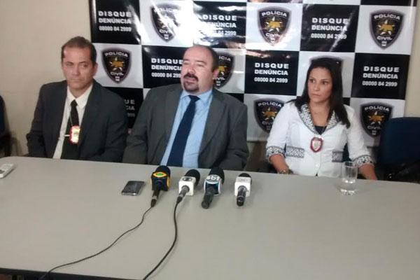 Informações sobre a prisão do militar foram dadas em coletiva de imprensa
