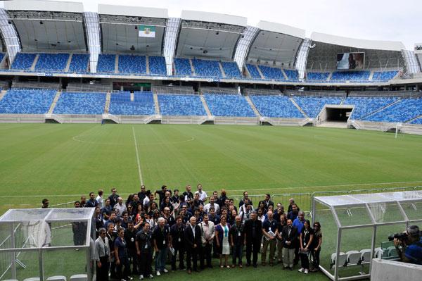Comitiva da Fifa e do Comitê Organizador Local está na cidade, levantando aspectos de segurança, mobilidade pública e saúde