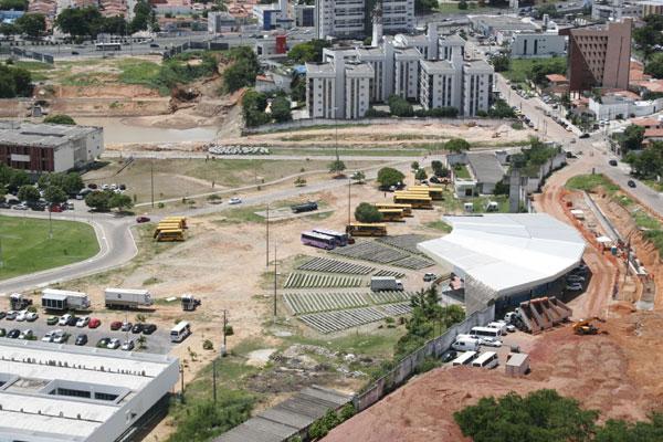 Papódromo será a área reservada para o estacionamento dos ônibus que atenderão torcedores