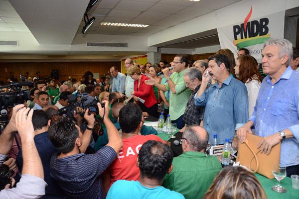 Henrique Eduardo Alves destaca que o deputado federal do PR estará na coalização