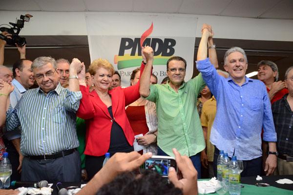 Henrique Eduardo Alves e Wilma de Faria confirmam as pré-candidaturas ao Governo do Estado e ao Senado