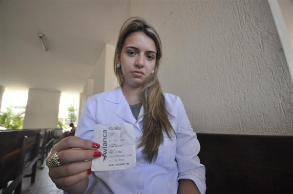Daniela Ávila estava no voo da Avianca
