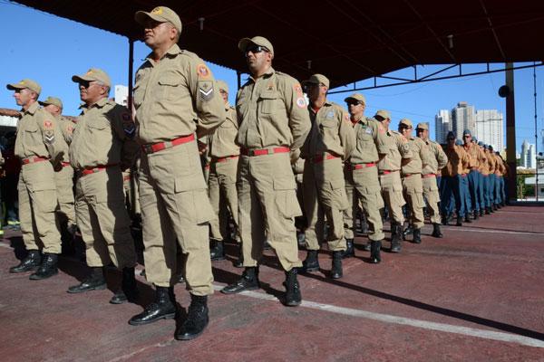 Durante o período da Copa, 189 profissionais do Corpo de Bombeiros vão receber diárias operacionais para atuar em Natal