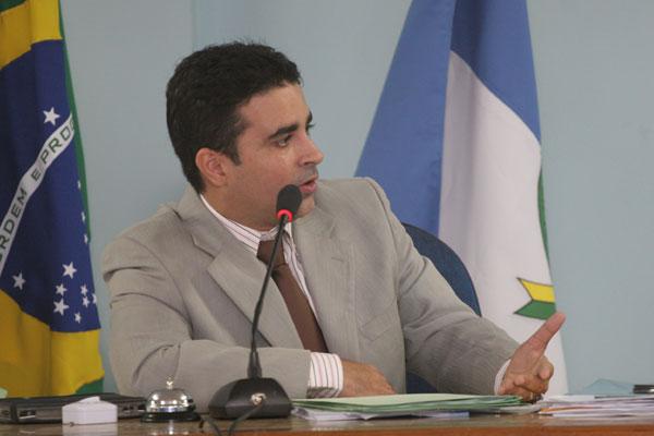 Francisco Silveira Júnior, prefeito em exercício