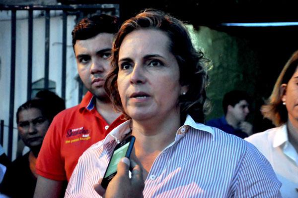 Cláudia Regina tem apoio de Rosalba e da cúpula do DEM