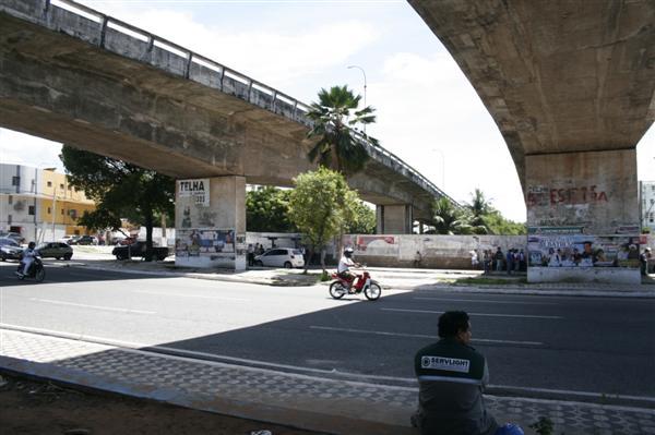 Fluxo abaixo do viaduto do Baldo será bloqueado