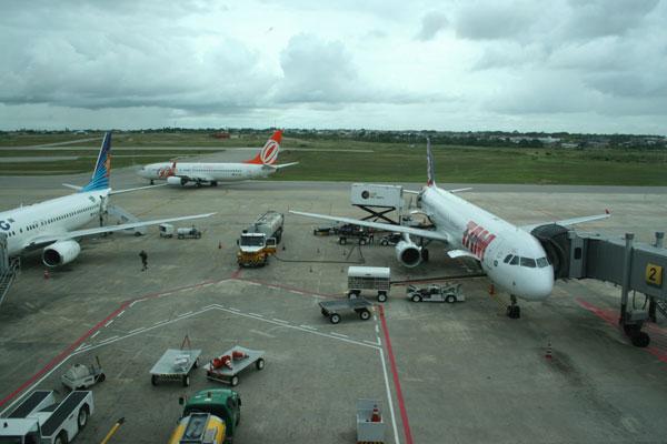 Considerando 18 aeroportos que atendem a capitais, apenas o de Campo Grande (MS) e o de  Vitória (ES) foram piores que o do RN