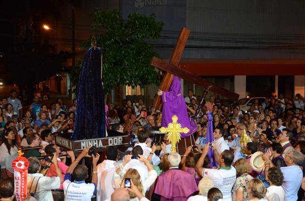 Encontro das imagens de Bom Jesus dos Passos com a de Nossa Senhora da Soledade