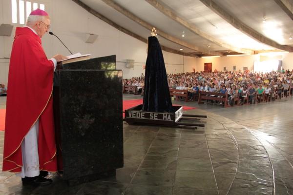 Arcebispo Dom Jaime Vieira Rocha falou sobre a perda de tradições durante a Semana Santa