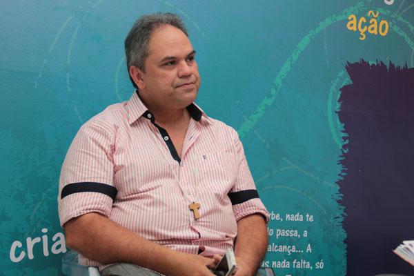 Luiz Eduardo Andrade, assessor de comunicação da Shalom Natal