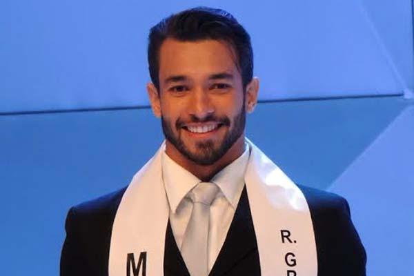 O potiguar vai representar o RN e o Brasil no Mister Universo