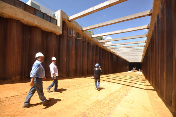 Túnel da Romualdo dará acesso à avenida Lima e Silva