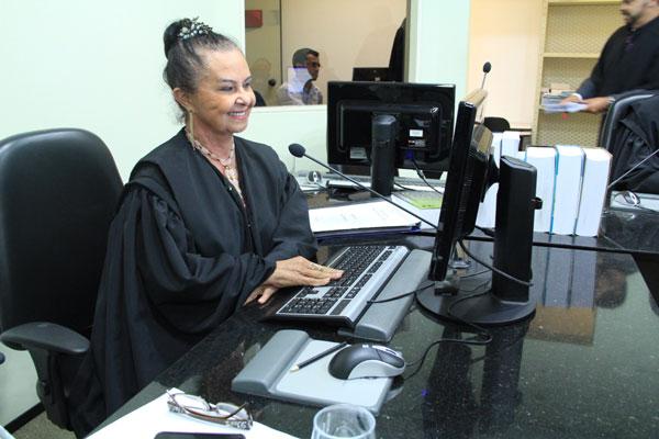 Des. Maria de Lourdes foi presidente do no biênio 2004/2006