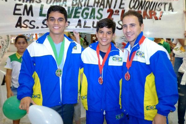 Atletas brasileiros na Ozawa Cup de karatê