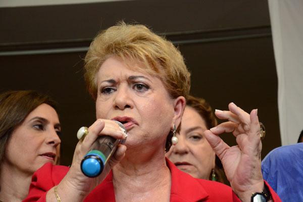 Wilma de Faria afirma que questão nacional está superada