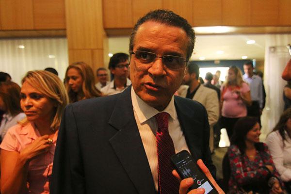 Alves, presidente da Câmara: expectativa é que os deputados aprovem o projeto por unanimidade